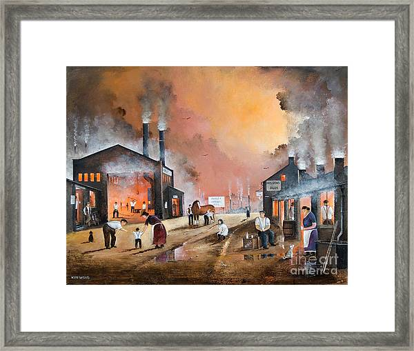 Dudleys By Gone Days Framed Print