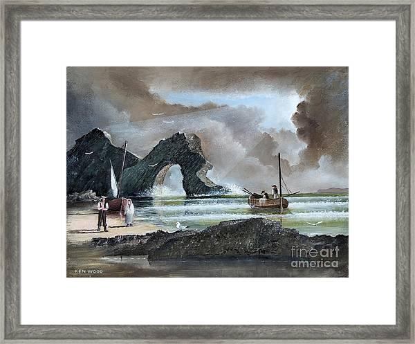 Durdle Door - Dorset Framed Print