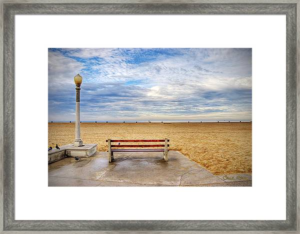 Early Morning At The Beach Framed Print