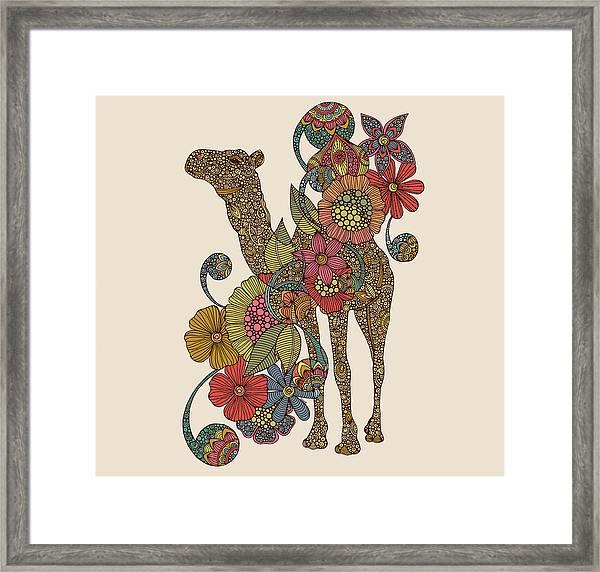 Easy Camel Framed Print