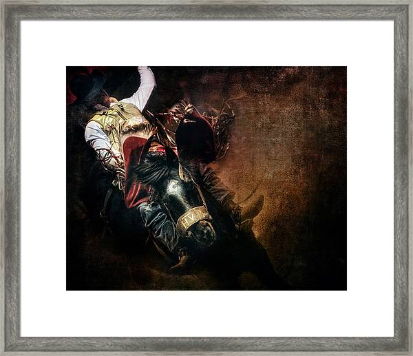 Eight Seconds Framed Print