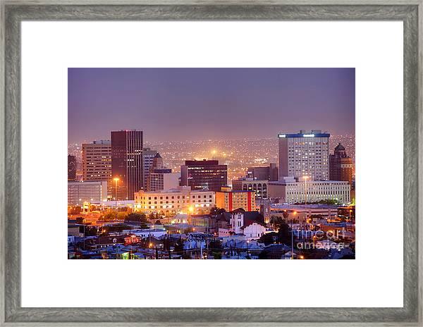 El Paso Framed Print by Denis Tangney Jr