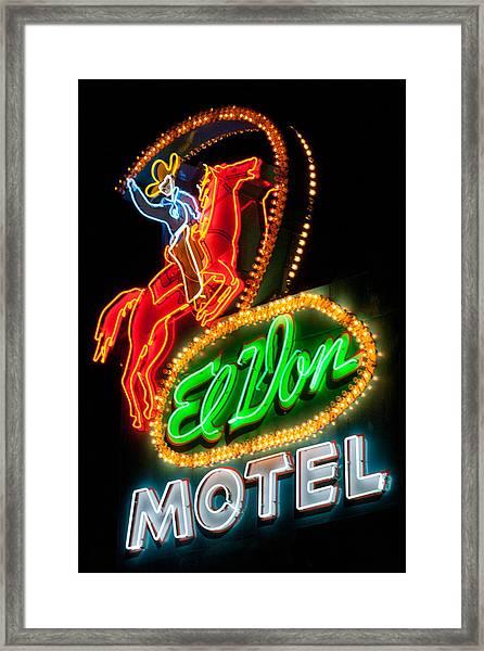 El Von--albuquerque Framed Print