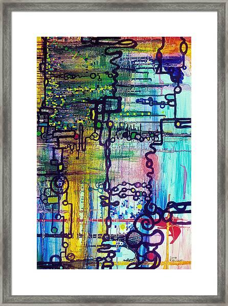 Emergent Order Framed Print