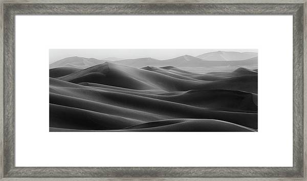 Empty Quarter Framed Print