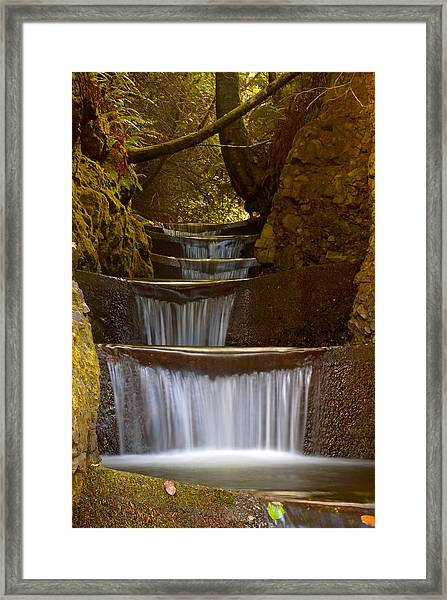 Endless Waterfall Framed Print