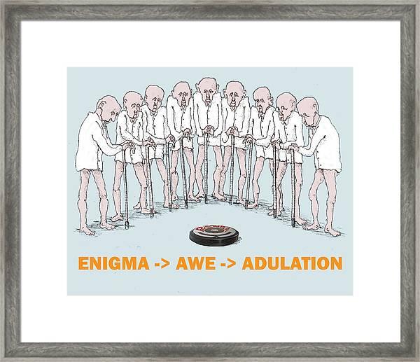 Enigma Framed Print