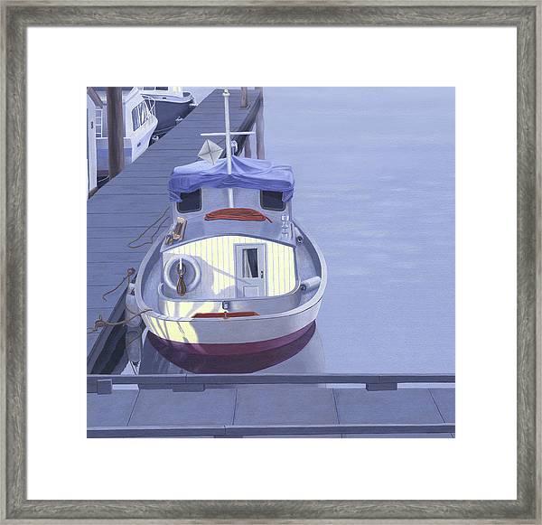Evening At Port Hardy Framed Print