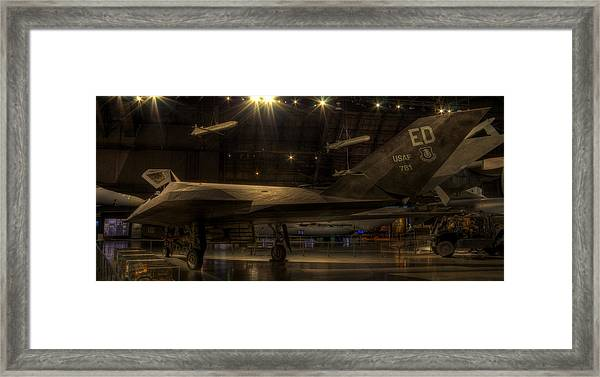F-117 Stealth Fighter Framed Print