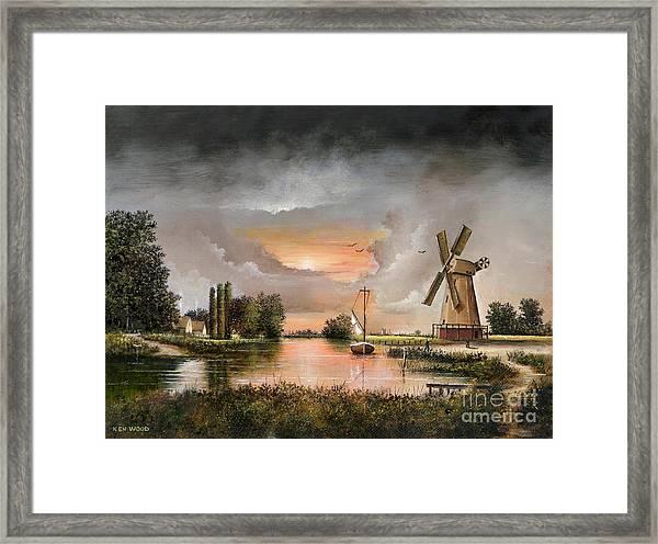 Fairhaven Mill Framed Print