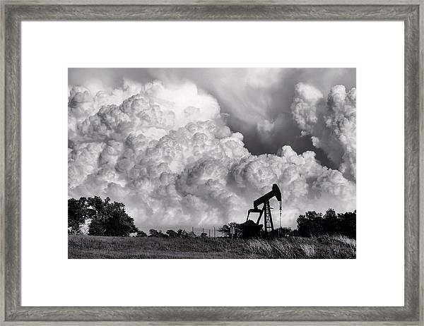 Field Of Nightmares Framed Print