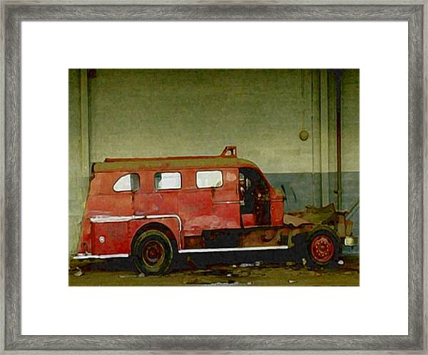 Fire Alarm Framed Print