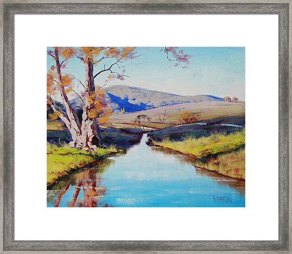 Fish River Tarana Framed Print