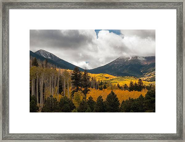Flagstaff Fall Color Framed Print