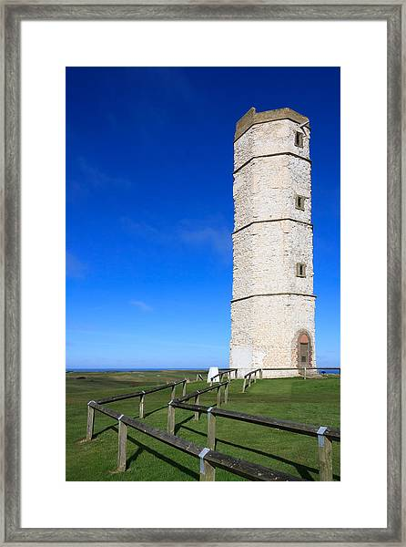 Flamborough Old Lighthouse Framed Print