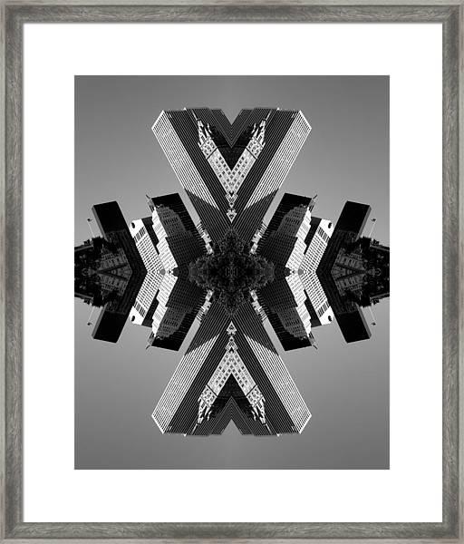 5th Ave Framed Print