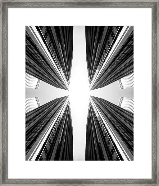 6th Ave Framed Print