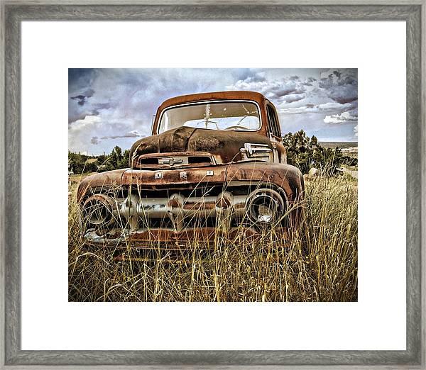 ORD Framed Print