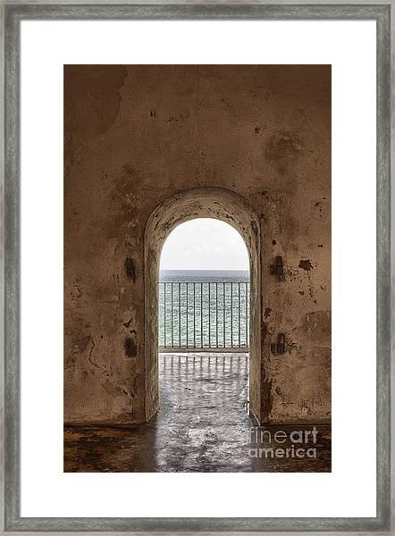 Fort Castillo San Felipe Del Morro Framed Print