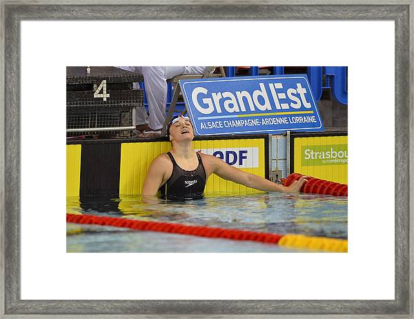 French National Swimming Championships Framed Print by Aurelien Meunier