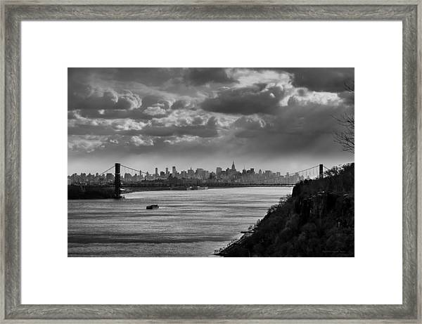 From The Jersey Side Framed Print