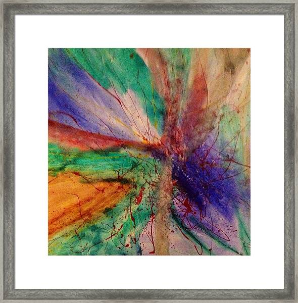 Fusion Framed Print by Russell Simmons