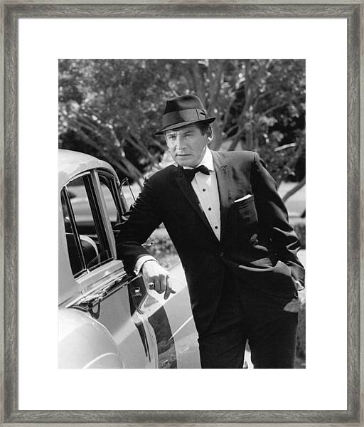 Gene Barry Framed Print by Silver Screen