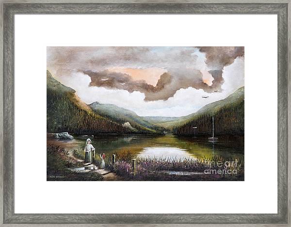 Glendalough Framed Print