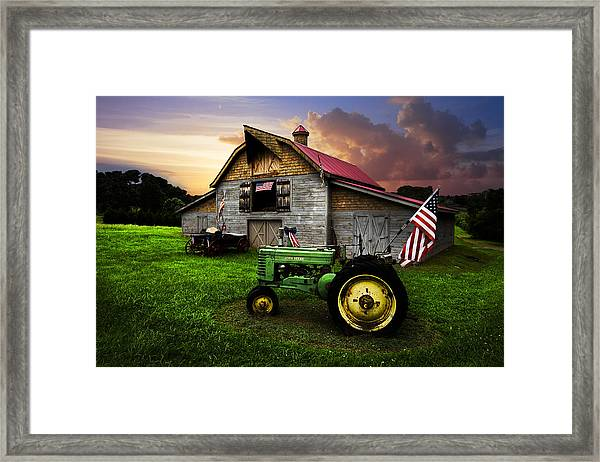 God Bless America Framed Print