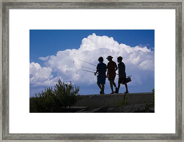 Going Fishing Framed Print