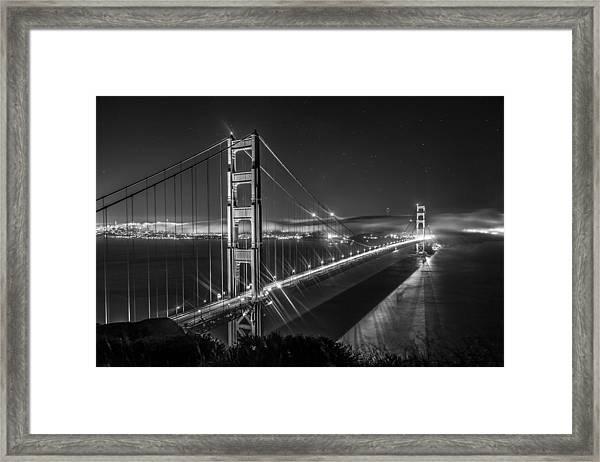 Golden Gate Bridge Framed Print