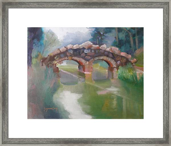 Golden Gate Park Footbridge Stowe Lake Framed Print
