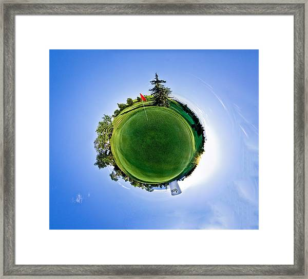 Golf Framed Print