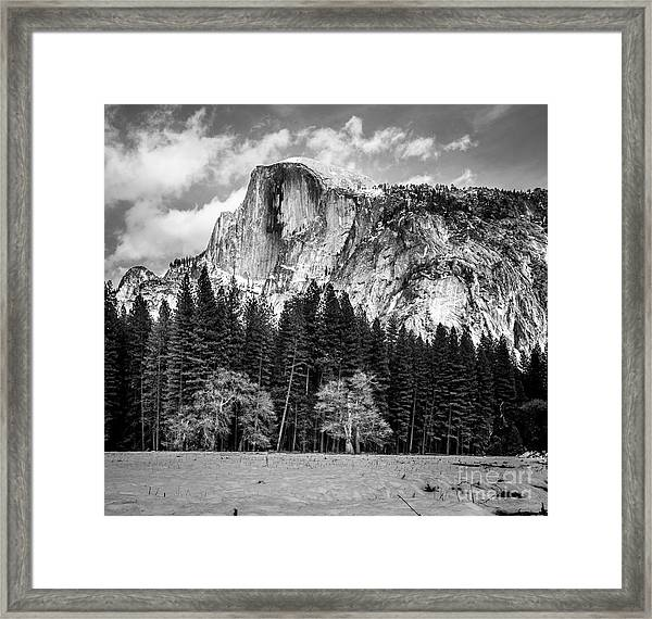 Half Dome Framed Print