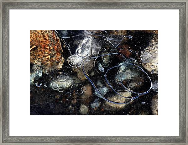 Framed Print featuring the photograph Hard Water by Randy Hall