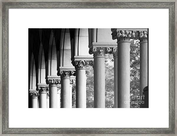 Memorial Hall At Harvard University Framed Print