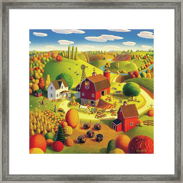 Harvest Bounty Framed Print