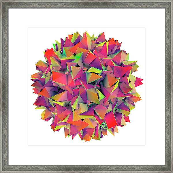 Hepatitis B Virus Framed Print by Kateryna Kon