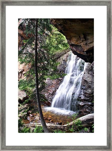 Hidden Falls Framed Print by Darryl Wilkinson