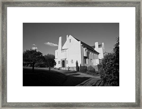 Hill House By Charles Rennie Mackintosh Framed Print