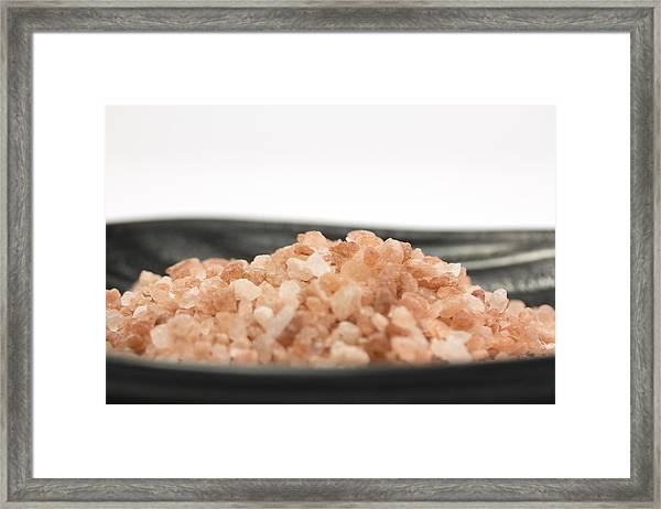 Himalayan Salt Framed Print by Fernando Trabanco Fotografía