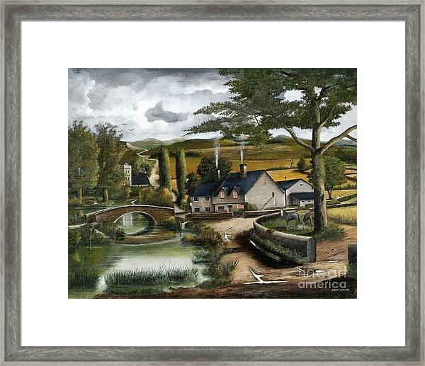Home Farm Framed Print