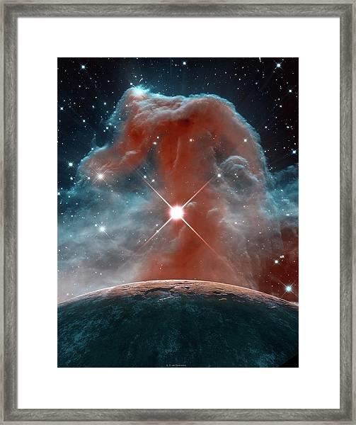 Horsehead Nebula Framed Print