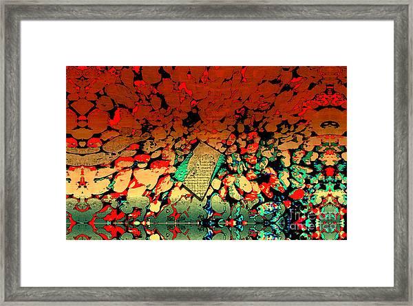 Hot Rocks Framed Print