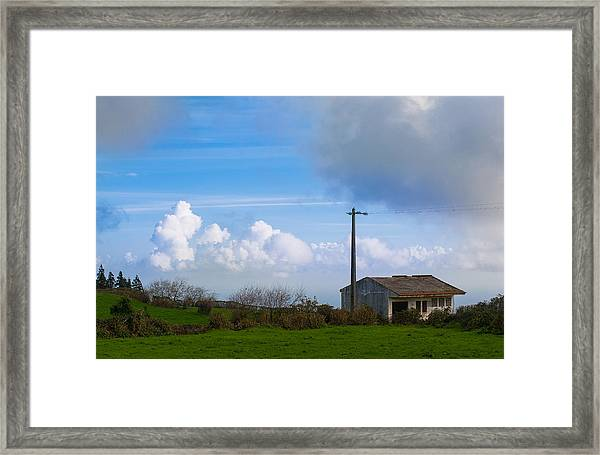 House At End Of The World Framed Print