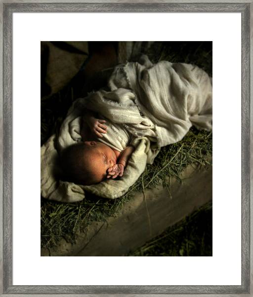 Humble Beginnings Framed Print