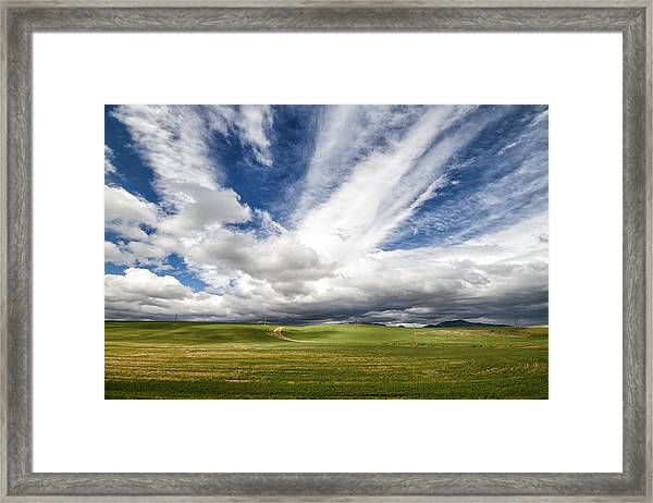 Idaho Sky Framed Print