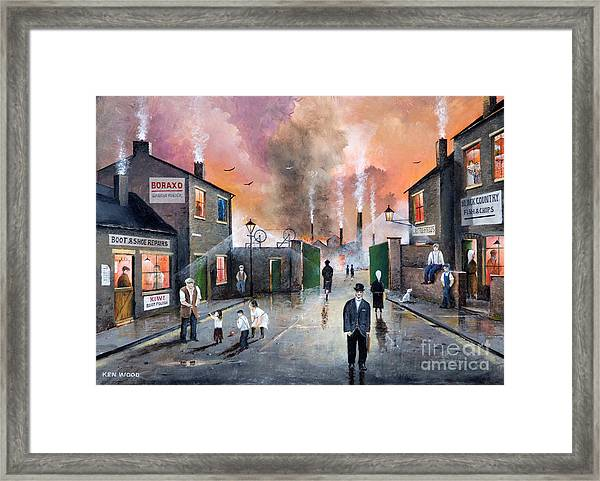 Images Of The Black Country Framed Print