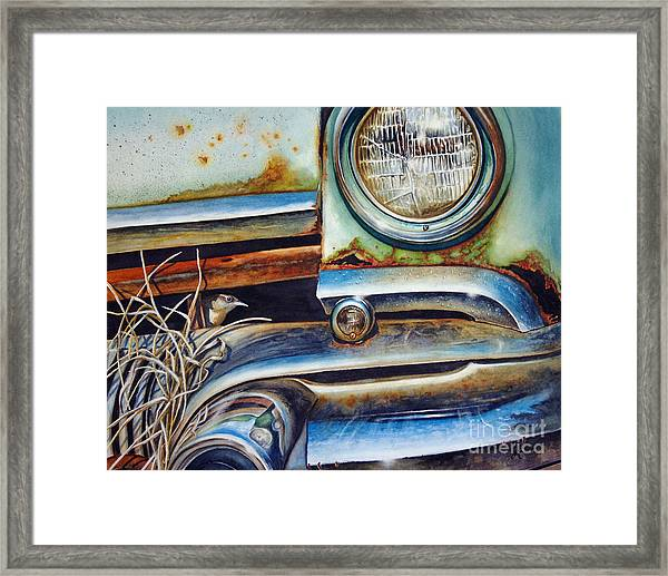 In The Beaten Path Framed Print