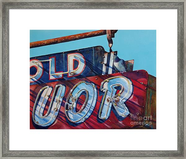 It's Five O'clock Somewhere Framed Print